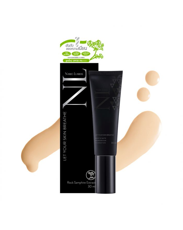 MOIST N' MATTE BALANCING FLUID FOUNDATION SPF 50 PA++++