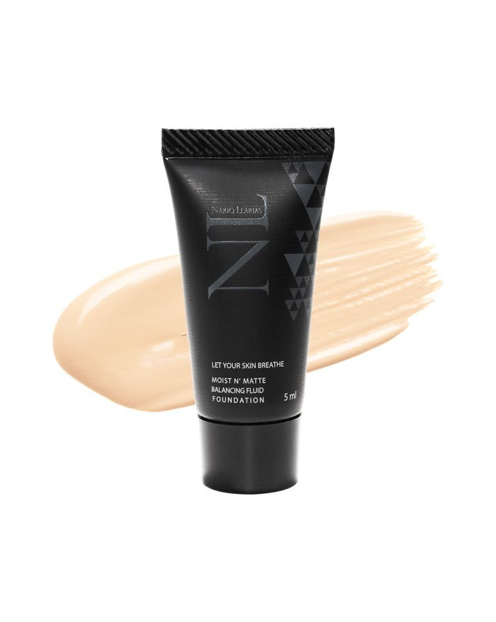 MOIST N' MATTE BALANCING FLUID FOUNDATION SPF 50 PA++++ 5ml