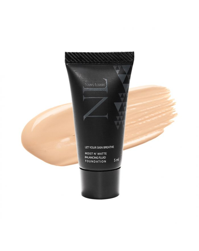 MOIST N' MATTE BALANCING FLUID FOUNDATION SPF 50 PA++++ Travel Size